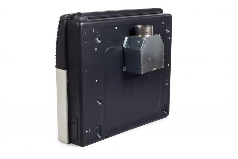 elegance EU5V - ogrzewacz TERM-GAZ wyprowadzenie spalin do komina